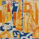 monotype, collage, transfer print, '20 Minutes'